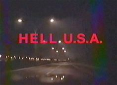 New trending GIF on Giphy. horror vhs typography hell title. Follow Me CooliPhone6Case on Twitter Facebook Google Instagram LinkedIn Blogger Tumblr Youtube