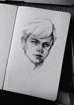Inspiring Realistic Drawings, Illustrations and Ideas. Awe Inspiring Realistic Drawings, Illustrations and Ideas. Portrait Sketches, Portrait Art, Drawing Sketches, Drawing Faces, Sketching, Drawing Drawing, Male Drawing, Art Faces, Dane Dehaan
