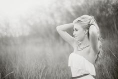 Senior picture idea for girl in nature. Nature senior picture idea for girl in…