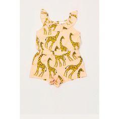 Giraffe summersuit  - Mini Rodini