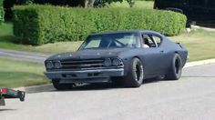 Chevelle street legal stock car