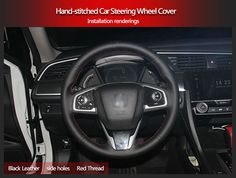 BANNIS Black Artificial Leather DIY Hand-stitched Steering Wheel Cover for Honda CRV 2012 -2014USD 23.00/pieceBANNIS Black Artificial Leather DIY Hand-stitched Steering Wheel Cover for Honda Accord 9 Odyssey Crosstour 2014-2015USD 18.86/pieceBANNIS Black Artificial Leather DIY Hand-stitched Steering Wheel Cover for Honda Accord 7 2004-2007USD 18.