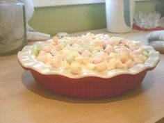 """Marshmallow Mermaid Pie - just like in the movie """"The Waitress"""""""