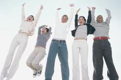 Make your teenage family reunion guests jump for joy!