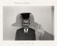 Duane Michals Magritte with Hat (1965)