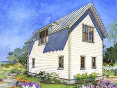 The Alder Cottage Three Back