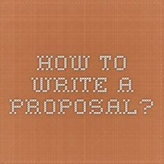How To Write A Good Postgraduate Research Proposal By Bc Chew Via