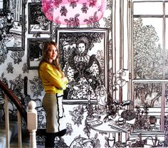 Charlotte Mann is an artist known for her large life-sized drawings - See more at: http://ifitshipitshere.blogspot.co.at/2009/10/maybe-you-shouldnt-discourage-your.html#sthash.BRIc6eN5.dpuf