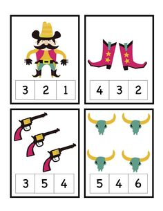 Little Hands, Big Work: What's Out Wednesday Preschool Pictures, Preschool Themes, Preschool Printables, Cowboy Theme, Western Theme, Cowboy And Cowgirl, Rainy Day Activities, Toddler Activities, Math Activities