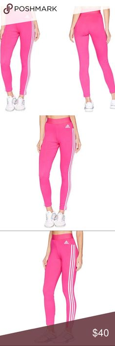 3a152392d76e7 Adidas Hot Pink Tights/Leggings A versatile layer or stand-alone basic -  these