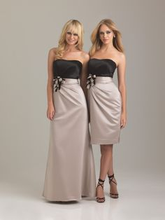 bridesmaid gowns. I LOVE these!!!!!!