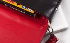 Natural leather briefcase. Each 3.7.6. product is unique. www.376west.com