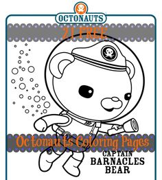 Great resource for Octonauts fans. 21 pages of free printable coloring sheets!