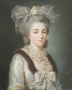 Circle of Adelaide Labille-Guiard (1749 - 1803) - Portrait of a lady, circa 1780