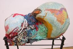 """newyorkarttours: """"Aidas Bareikis at Canada New YorkBrooklyn-based Lithuanian sculptor Aidas Bareikis continues to mine the world's junk for his intense sculptural accumulations. Here, 'Too Much..."""