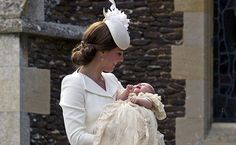 On July 5, 2015, Princess Charlotte was baptized by the Archbishop of Canterbury. Her godparents are The Hon. Laura Fellowes (Princess Diana's older sister), Kate's cousin Adam Middleton and family friends Thomas van Straubenzee, James Meade and Sophie Carter.
