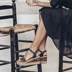 US$ 29.85 - Sexy Leopard Women's Sandals Summer Ladies Female Beach Shoes Printed Flats Platform Sandalias Mujer Shoes Woman - www.joymanmall.com Womens Summer Shoes, Womens Fashion Casual Summer, Womens Shoes Wedges, Womens High Heels, Wedge Sandals Outfit, Wedge Shoes, Women's Sandals, Flats, Leopard Shoes Outfit