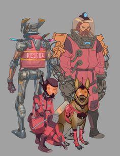 Emergency Rescue Unit (E.R.U)