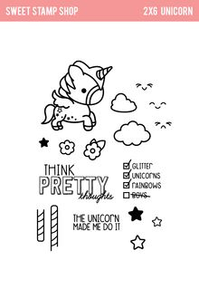 Unicorn - Sweet Stamp Shop