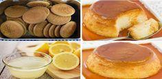 Flan de galletas con las tradicionales 'María' de toda la vida, Si te gusta dinos HOLA y dale a Me Gusta MIREN… | Receitas Soberanas