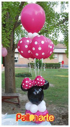 Minnie bouquet balloon topolina palloncini