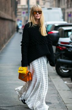 Capsule Wardrobe For Spring: Inspiration from Street Style Stars