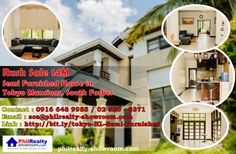 Get this Rush sale http://bit.ly/tokyo-HL-Semi-Furnished house from Philrealty. Owner will be going out to Korea.   Tel. No. : +63 (02) 520 8371 | +63 (049) 536 1287 Mobile : 63 916 648 9985  http://bit.ly/N7er2d philrealtyglobalmarketing@gmail.com www.facebook.com/PhilRealtyGlobalMarketing www.twitter.com/RealtyGlobal