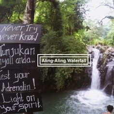 Aling Aling Waterfall is located near Singaraja in Bali Indonesia. There are 7 waterfalls in total ad it is one of the best waterfalls in Bali. Bali Holidays, Waterfall, Outdoor, Outdoors, Waterfalls, Outdoor Games, The Great Outdoors
