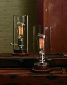 Edison Lamp-Lindscomb, but I think I could make one with the hubby's help.