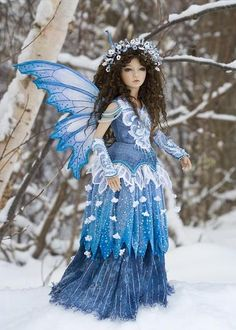 BJD - Blue beauty!