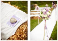 Der lila Faden und eine Trauung auf Strohballen | Hochzeitsblog Fräulein K. Sagt Ja