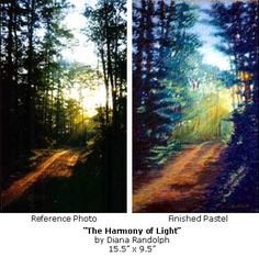 Harmony of Light- Pastel painting demo Art Tutorials, Painting Tutorials, Painting Tips, Artist Painting, Painting & Drawing, Pastel Art, Pastel Paintings, Painting Workshop, Watercolour Tutorials
