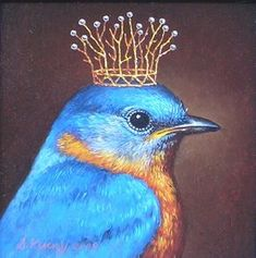ideas blue bird illustration beautiful for 2019 Art And Illustration, Motifs Animal, Arte Popular, Whimsical Art, Animal Paintings, Beautiful Birds, Pet Portraits, Pet Birds, Illustrators