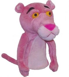 The Pink Panther Golf Headcover by Winning Edge. Buy it @ ReadyGolf.com