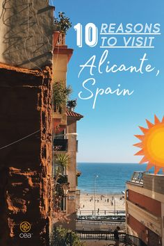 Planning trips for your upcoming study abroad program? Here's why you should add Alicante, Spain, to your travel list. Stuff To Do, Things To Do, Alicante Spain, Travel List, Study Abroad, Traveling By Yourself, Trips, Spanish, Island