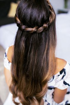 Twisted Half-Up Do — Luxy Hair Blog - All about hair!