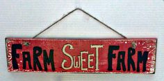 Handmade wood welcome sign , hand painted farm sweet farm wood sign , custom farm sign , custom wood sign , personalized wood sign , farmers by MorningStarWoodSigns on Etsy