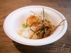 Egg / panko / daikon at Tapage Restaurant in Warsaw