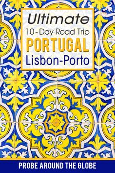 How to plan your own DIY Road Trip across Portugal. How much time to spend in Lisbon, Sintra and Porto. Where to stop, where to stay and where to eat. Follow my guide for the most epic road trip from Lisbon to Porto in 10 days. #roadtrip #portugal #lisbontoporto #oporto #portugalroadtrip Portugal Travel Guide, Europe Travel Guide, Backpacking Europe, Traveling Europe, Travelling, Road Trip Packing, Road Trip Hacks, Road Trips, Algarve