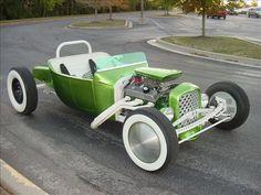 T-Bucket Roadster | 1923 Ford Roadster, T-Bucket green Gasoline (Georgetown) | Cars ...
