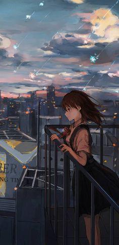 Dark Anime Girl, Manga Anime Girl, Cool Anime Girl, Anime Girl Drawings, Kawaii Anime Girl, Cute Galaxy Wallpaper, Anime Wallpaper Live, Anime Scenery Wallpaper, Anime Artwork