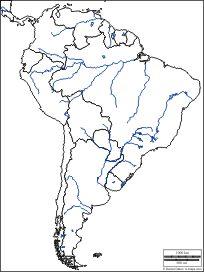 América del Sur: Mapas gratuitos, mapas mudos gratuitos, mapas en blanco gratuitos, plantillas de mapas gratuitos