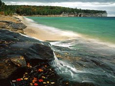 Chapel Beach on Lake Superior, Ontario