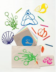 kimmel kids stencils: amazing modern botanical designs