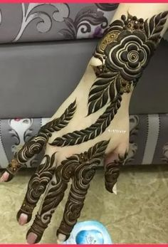 Short Mehndi Design, Khafif Mehndi Design, Floral Henna Designs, Latest Arabic Mehndi Designs, Arabic Henna Designs, Indian Mehndi Designs, Mehndi Designs 2018, Stylish Mehndi Designs, Mehndi Design Photos