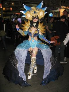 Cosplayer extraordinaire Enayla debuts her Guild Wars 2 Shining Blade costume  at PAX East 2012