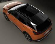 Peugeot 3008 2016 3d model
