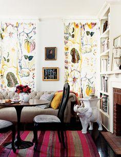 Love the wallpaper domino.com