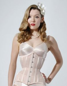 What Katie Did Cabaret Sheer Morticia Peach Corset L6067 What Katie Did. $267.00