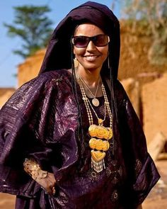 #touareg#femme algerienne du Sahara